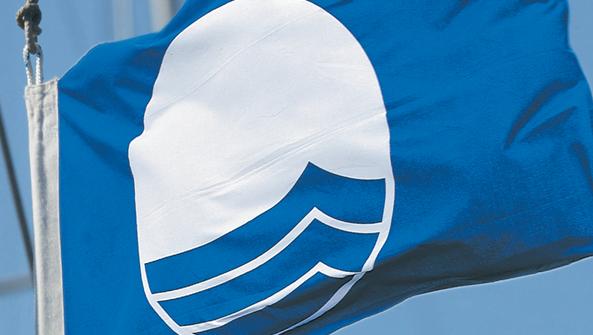 Blue flag visuel